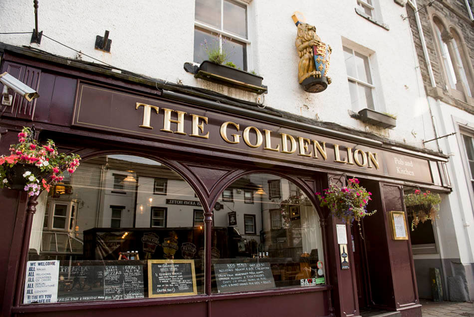 The Golden Lion Pub in Keswick