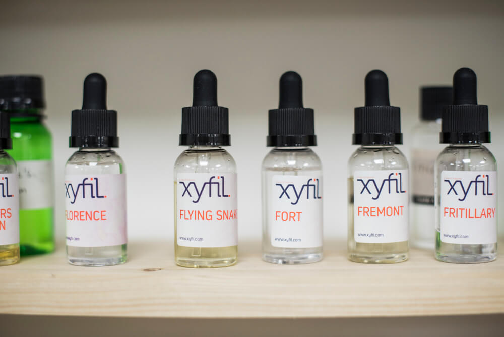 Xyfil E-Liquid Laboratory Preston