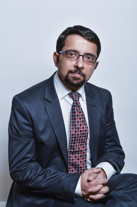 Corporate Portrait Photograph Taken in Preston