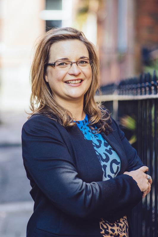 Corporate Photograph of Michelle Taken in Preston