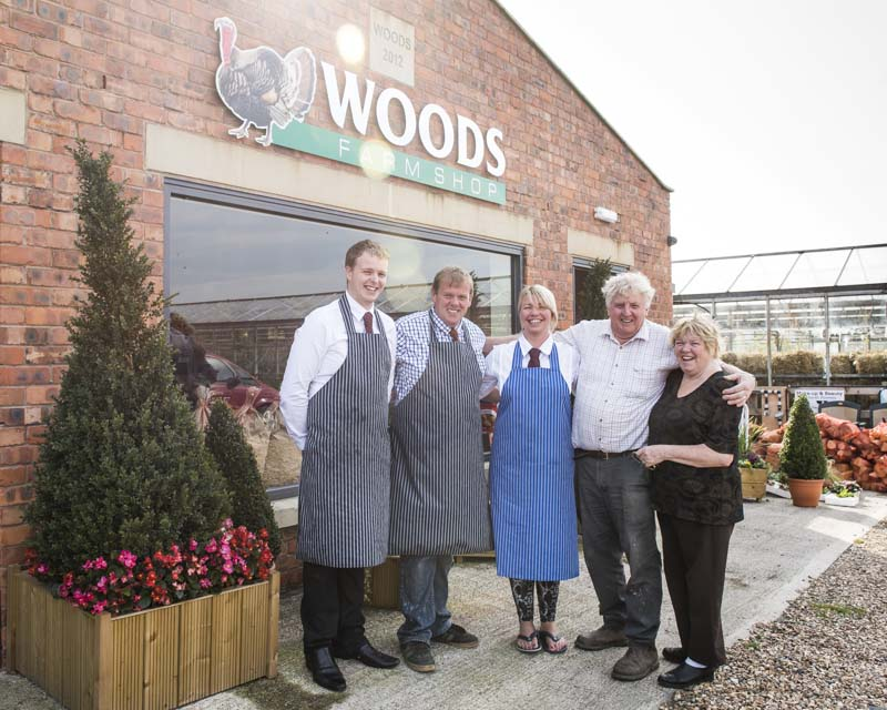 Woods Farm Shop Lancashire