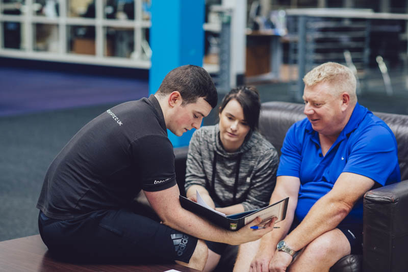 Personal Trainer Conor With 2 New Clients