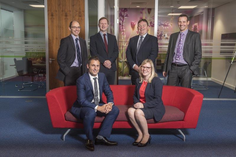 Team Members Corporate Photograph