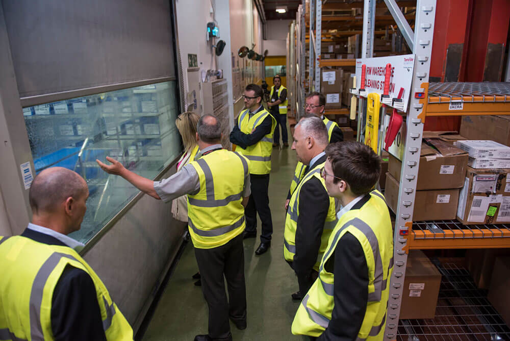 Thermo Fisher Officials Tour